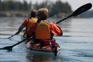 Sea Kayaking on the Bay of Fundy