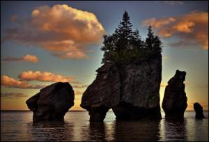 Brown County Inn >> Flower Pot Rocks - Bay of Fundy