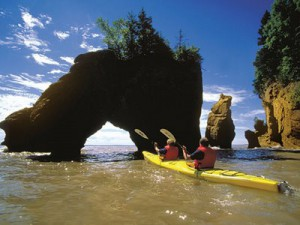 Kayak Hopewell Rocks