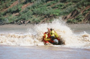 Tidal Bore Rafting Splash