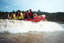 Tidal Wave Surfing