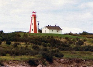 Lighthouses Bay Of Fundy
