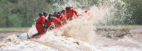 Tidal Bore Rafting: Travel Upriver on a 10 Feet Wave